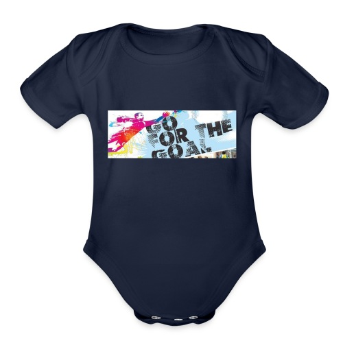 GoForTheGoal Official Products - Organic Short Sleeve Baby Bodysuit
