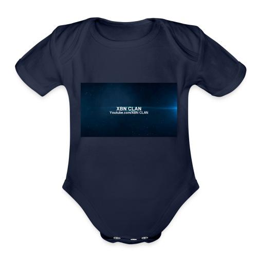 XBN CLAN - Organic Short Sleeve Baby Bodysuit