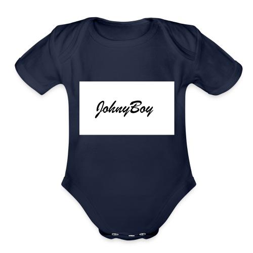 JohnyBoy - Organic Short Sleeve Baby Bodysuit