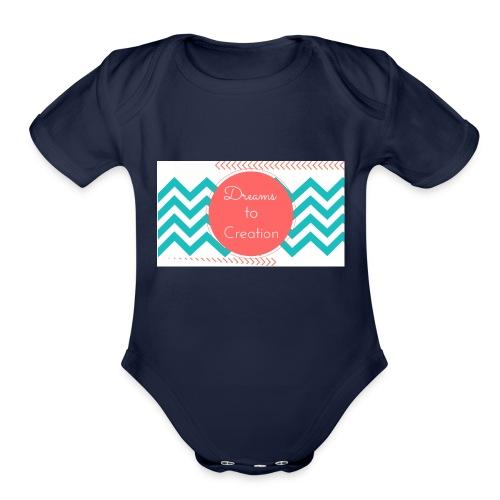 Dreams to Creation - Organic Short Sleeve Baby Bodysuit