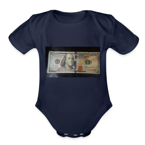 MoneyLife - Organic Short Sleeve Baby Bodysuit