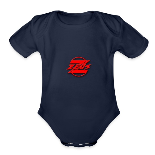 1s design - Organic Short Sleeve Baby Bodysuit