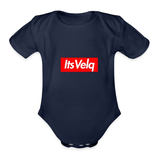 Velq Apparel - Organic Short Sleeve Baby Bodysuit