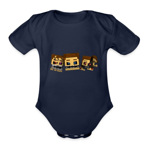Doctorks' Shirts - Organic Short Sleeve Baby Bodysuit