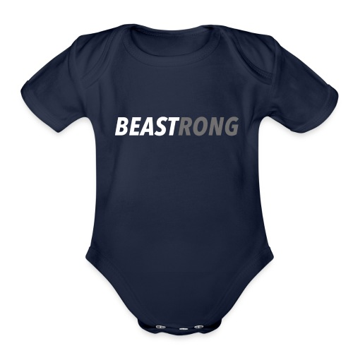 BEAST EDITION #2 - Organic Short Sleeve Baby Bodysuit