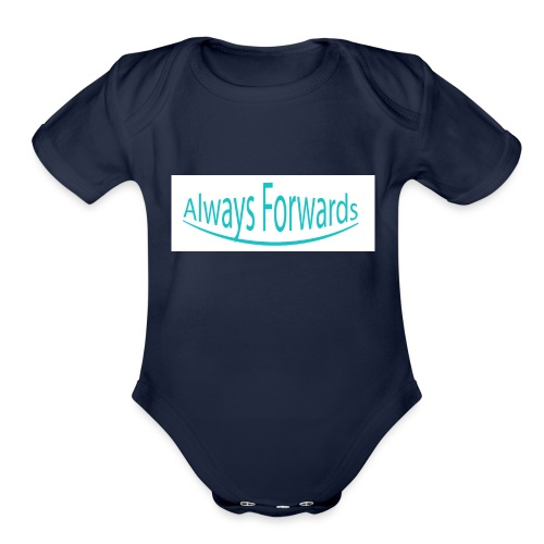 Always Forwards - Organic Short Sleeve Baby Bodysuit