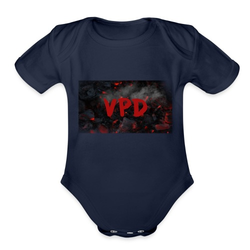 VPD Smoke - Organic Short Sleeve Baby Bodysuit