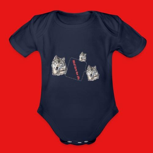 IMG 1724 - Organic Short Sleeve Baby Bodysuit
