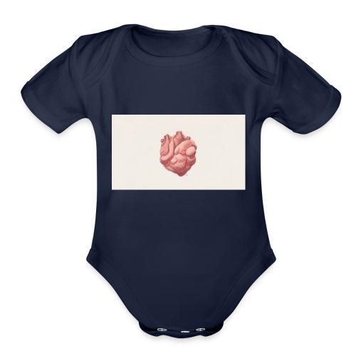 digital art heart art background 103910 1920x1080 - Organic Short Sleeve Baby Bodysuit