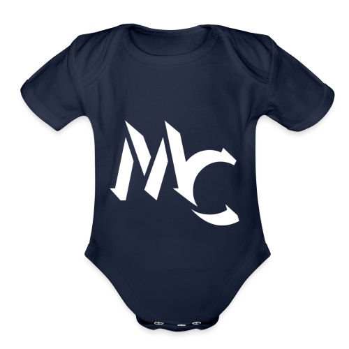 MC LOGO - Organic Short Sleeve Baby Bodysuit