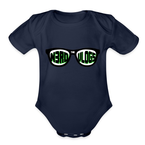 The_Nerd_Vlogs_-_logo - Organic Short Sleeve Baby Bodysuit