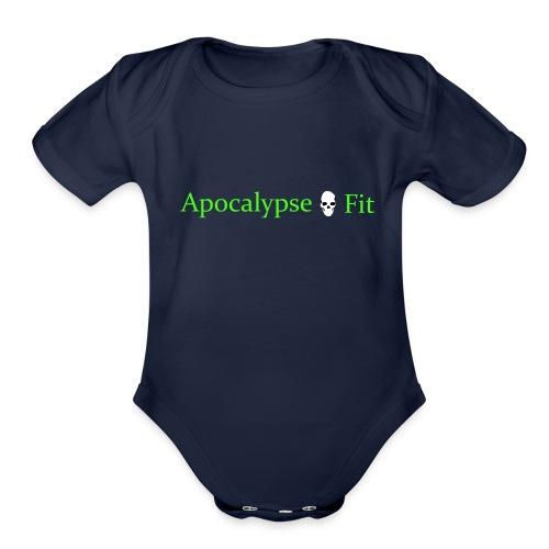 Apocalypse Fit - Organic Short Sleeve Baby Bodysuit