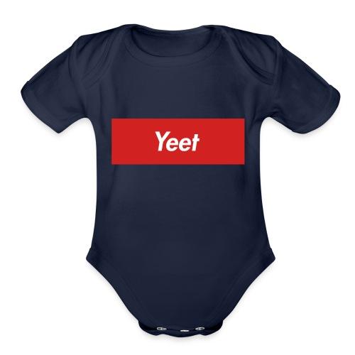 Yeet - Organic Short Sleeve Baby Bodysuit