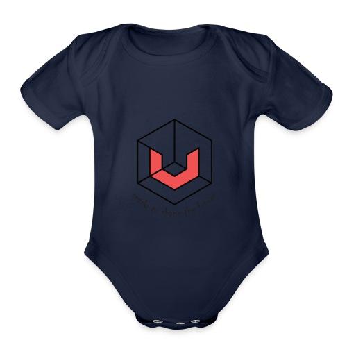 Universa UTN Crypto - Organic Short Sleeve Baby Bodysuit