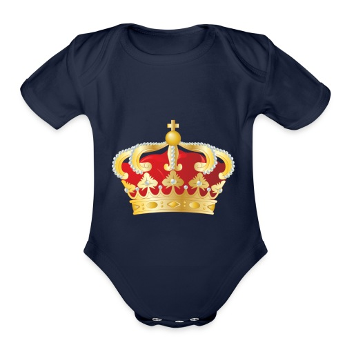 THEKOOLKINGS - Organic Short Sleeve Baby Bodysuit