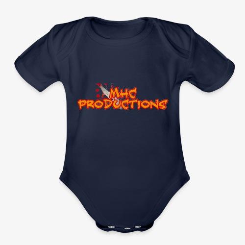 Murderous Horror Corner Productions - Organic Short Sleeve Baby Bodysuit