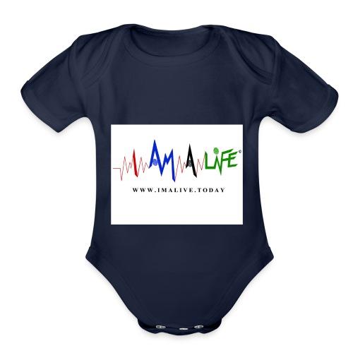 I'm ALive... I Am a Life - Organic Short Sleeve Baby Bodysuit