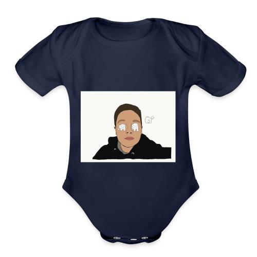 Original Prodigy Dope merch - Organic Short Sleeve Baby Bodysuit