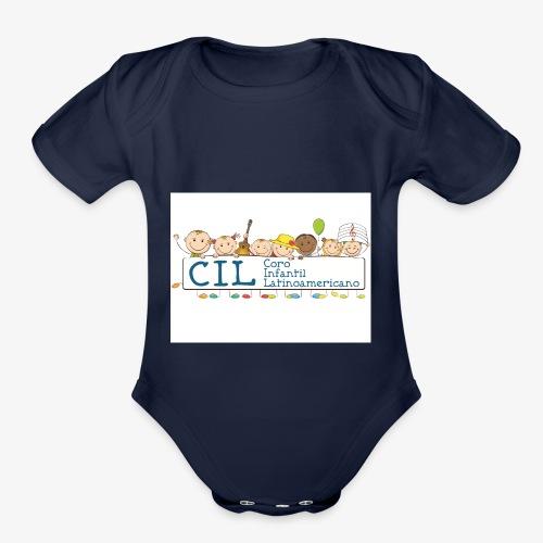 CIL - Organic Short Sleeve Baby Bodysuit