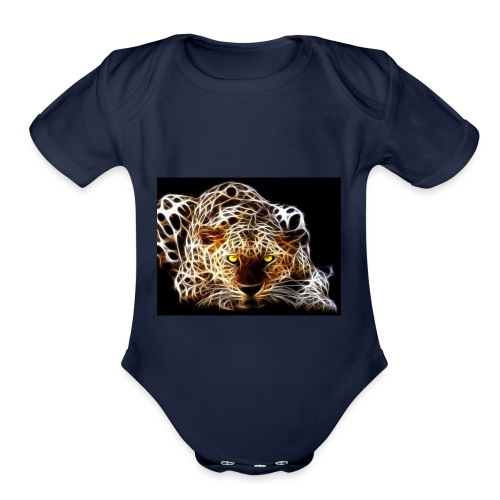 close for people and kids - Organic Short Sleeve Baby Bodysuit