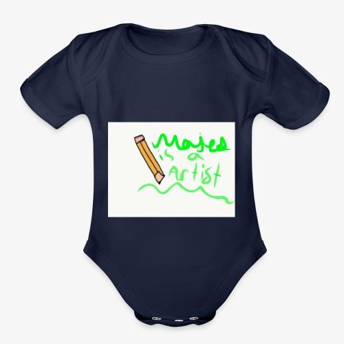 2305C134 2982 42D3 9E4A C5E8EEE75168 - Organic Short Sleeve Baby Bodysuit