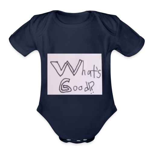 What's Good!? - Organic Short Sleeve Baby Bodysuit