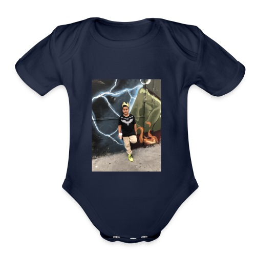 IMG 6830 - Organic Short Sleeve Baby Bodysuit