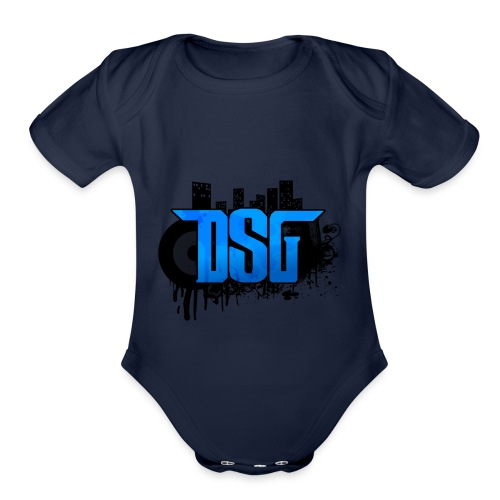 DSG Graffiti - Organic Short Sleeve Baby Bodysuit