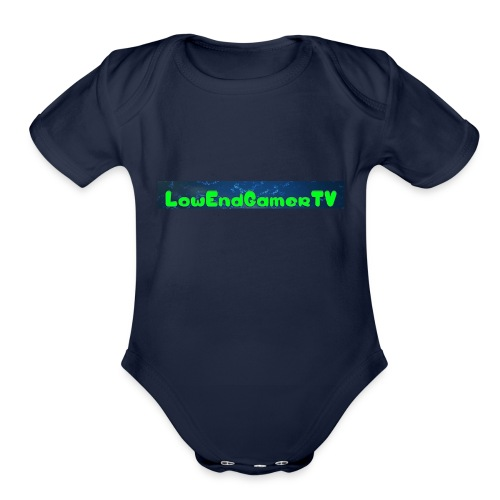 LEG TV - Organic Short Sleeve Baby Bodysuit