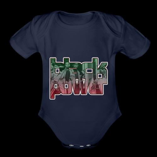 Black Power - Organic Short Sleeve Baby Bodysuit