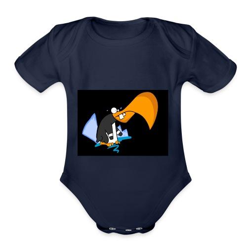 Boblo - Organic Short Sleeve Baby Bodysuit