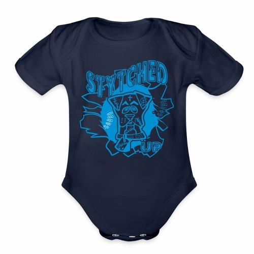 STYTCHED UP - Organic Short Sleeve Baby Bodysuit