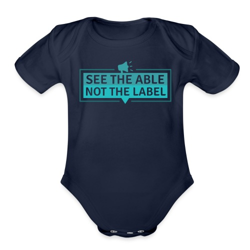 See the Able - Organic Short Sleeve Baby Bodysuit