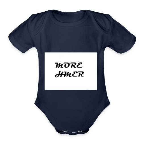 MORE HMER - Organic Short Sleeve Baby Bodysuit