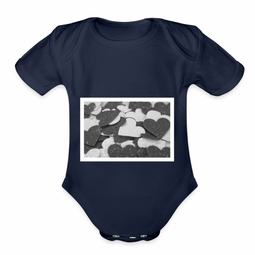 For all the love I have for you! - Organic Short Sleeve Baby Bodysuit