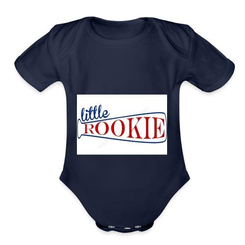 Little Rookie American - Organic Short Sleeve Baby Bodysuit