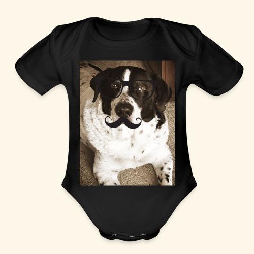 Old Pongo - Organic Short Sleeve Baby Bodysuit