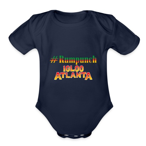 igloo Atlanta Crew love - Organic Short Sleeve Baby Bodysuit