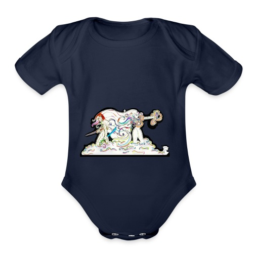 MD At Your Side - Organic Short Sleeve Baby Bodysuit