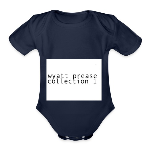 collection one - Organic Short Sleeve Baby Bodysuit