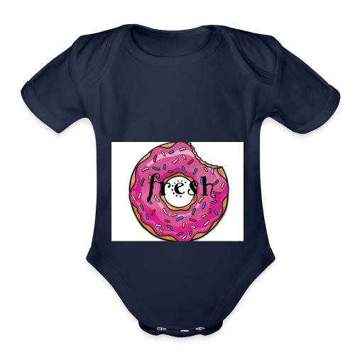 dounut - Organic Short Sleeve Baby Bodysuit