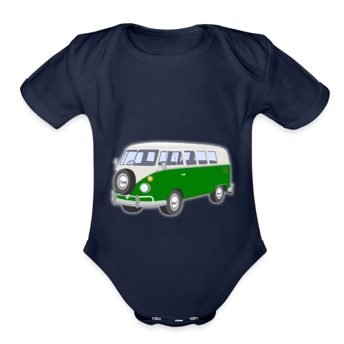 Vus - Organic Short Sleeve Baby Bodysuit