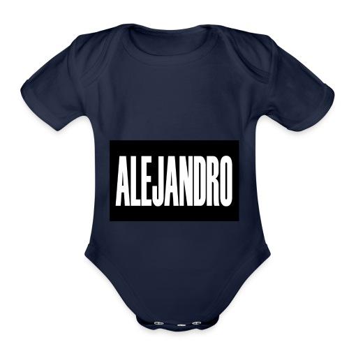 Alejandro - Organic Short Sleeve Baby Bodysuit