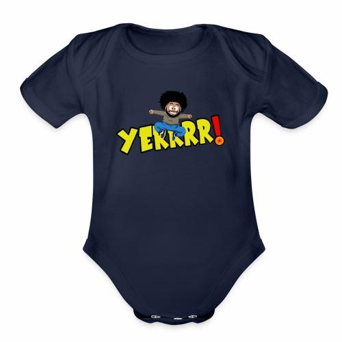 #Yerrrr! - Organic Short Sleeve Baby Bodysuit