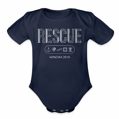 Winema 2nd High School Camp (RESCUE) - Organic Short Sleeve Baby Bodysuit