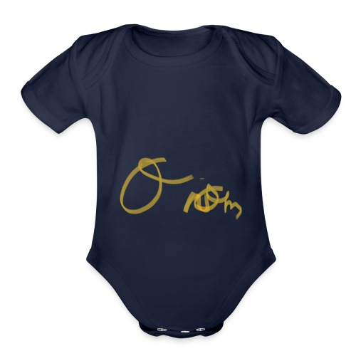 42D3C1F0 8527 4B48 98D9 78802AEA19BD - Organic Short Sleeve Baby Bodysuit