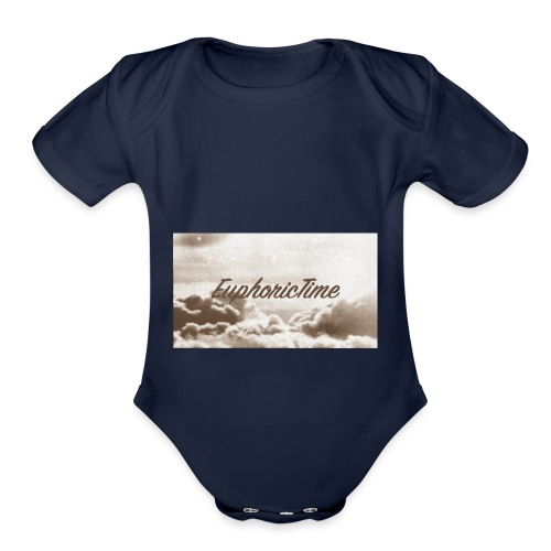 EuphoricTime Sepia - Organic Short Sleeve Baby Bodysuit