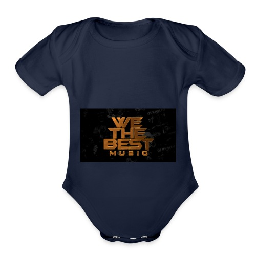 We The Best Music - Organic Short Sleeve Baby Bodysuit