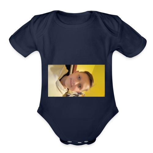 15211733535991424185807 - Organic Short Sleeve Baby Bodysuit