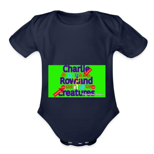 CF91BEF7 C753 47D8 9968 6C041FC9ACC9 - Organic Short Sleeve Baby Bodysuit